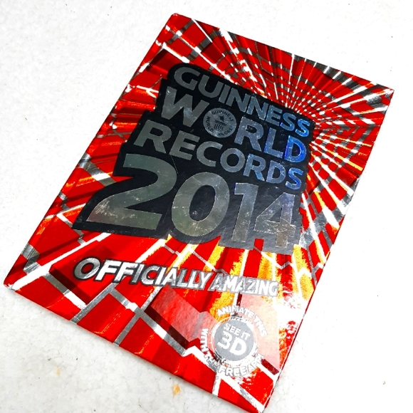 Guiness Book Of World Records 2014 Hardcover